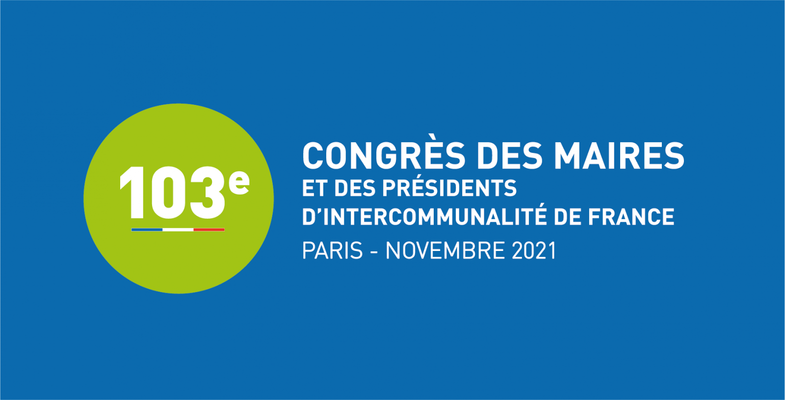 103ème Congrès des Maires et des Présidents d'intercommunalité de France